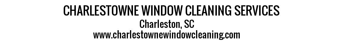 1Charlestowne window cleaning  banner - TRANSP (11K)